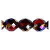Fire polished 10mm Garnet Azuro Strung